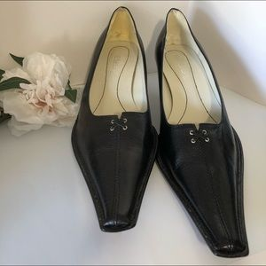Leather Vero Cuoio Pumps made in Italy size 8